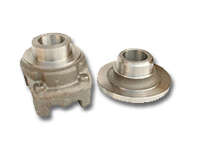 Machined casting for hydraulic