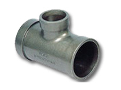 Pipe fittings tee casting