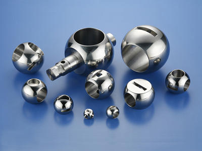 Valve balls CNC machined